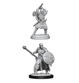 WIZKIDS DND UNPAINTED MINIS WV13 HUMAN BARBARIAN MALE