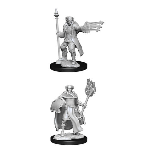DND UNPAINTED MINIS WV13 MULTICLASS CLERIC/WIZARD MALE