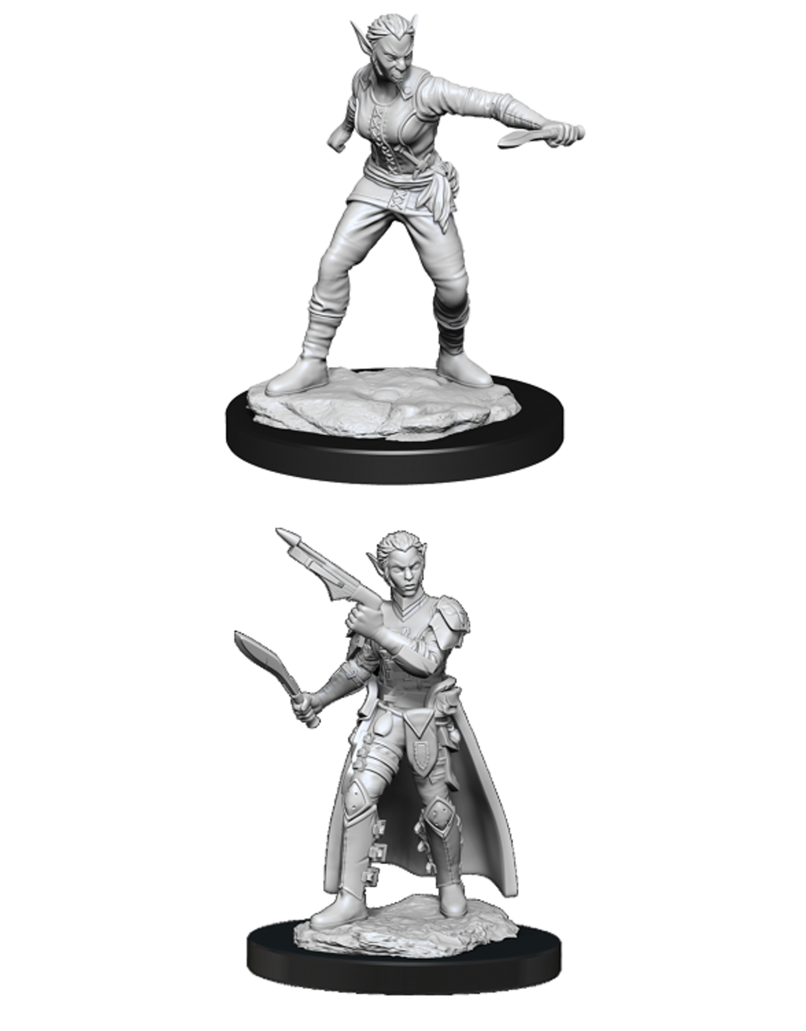 WIZKIDS DND UNPAINTED MINIS WV13 SHIFTER ROGUE FEMALE