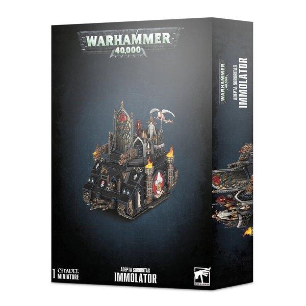 Warhammer 40k Adeptas Sororitas Immolator