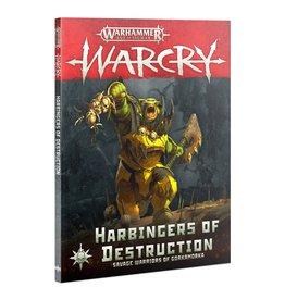 Warcry WARCRY: HARBINGERS OF DESTRUCTION (ENG)