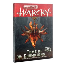 Warcry WARCRY: TOME OF CHAMPIONS 2020 (ENG)