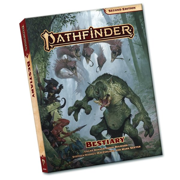 Paizo PATHFINDER 2E BESTIARY POCKET EDITION