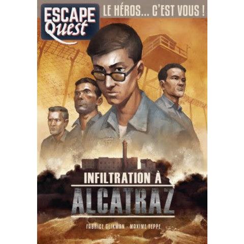 Escape Quest: Infiltration à Alcatraz