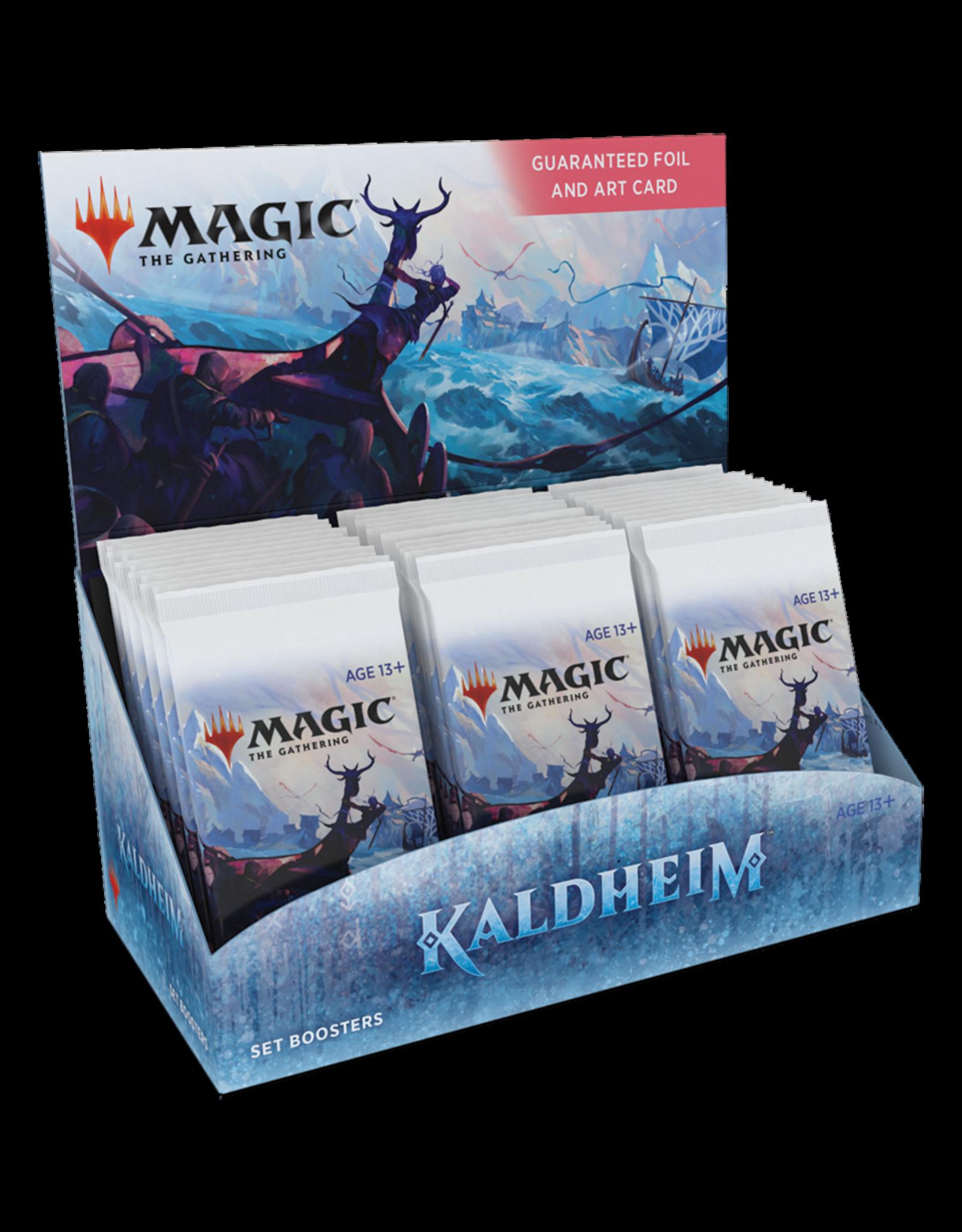 Wizards of the Coast MTG KALDHEIM SET BOOSTER BOX *DATE DE SORTIE 5 FÉVRIER*