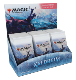 Wizards of the Coast MTG KALDHEIM SET BOOSTER BOX *DATE DE SORTIE 5 FÉVRIER*