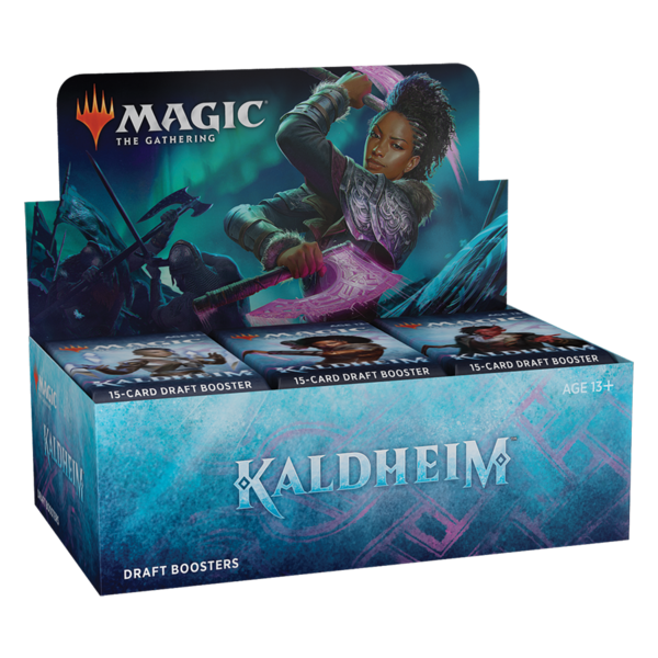 Wizards of the Coast MTG KALDHEIM DRAFT BOOSTER BOX