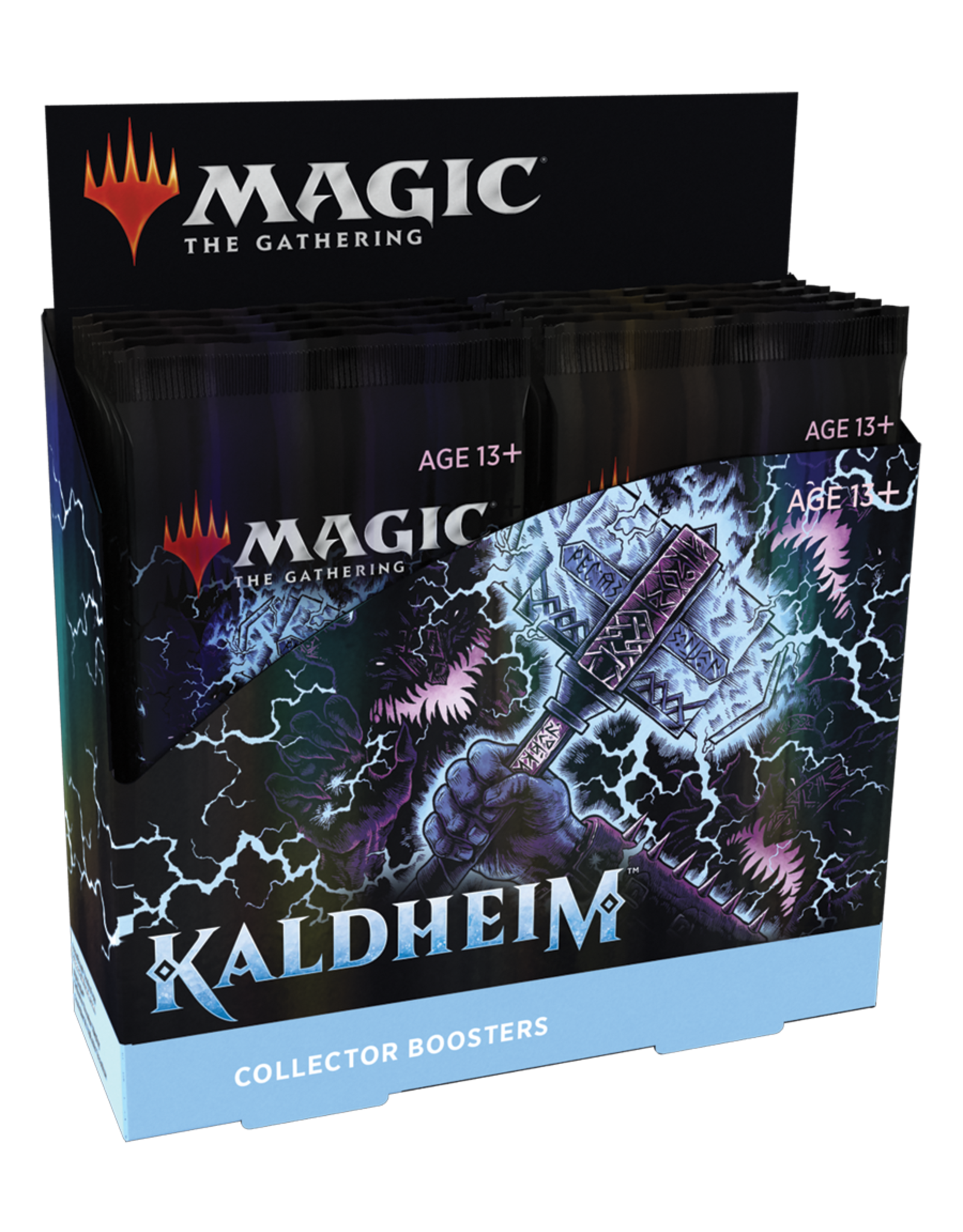 Wizards of the Coast MTG KALDHEIM COLLECTOR BOOSTER BOX *DATE DE SORTIE 5 FÉVRIER*