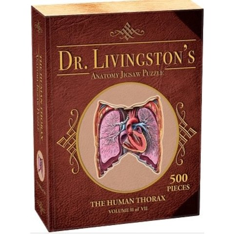 DR. LIVINGSTON'S ANATOMY PUZZLE: HUMAN THORAX (500pc)