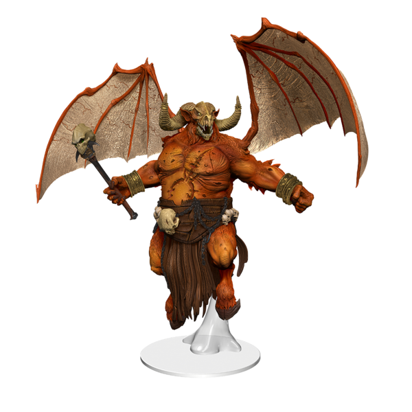 WIZKIDS DND ICONS: ORCUS DEMON LORD OF UNDEATH