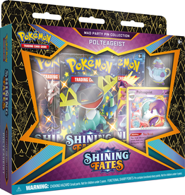 POKEMON POKEMON SHINING FATES MAD PARTY PIN COLLECTION - Polteageist *DATE DE SORTIE 19 FÉVRIER*