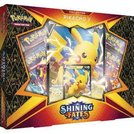 POKEMON POKEMON SHINING FATES PIKACHU V COLLECTION