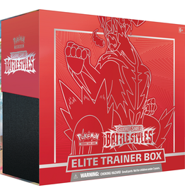 POKEMON POKEMON BATTLE STYLES ELITE TRAINER BOX - Red *DATE DE SORTIE 19 MARS*