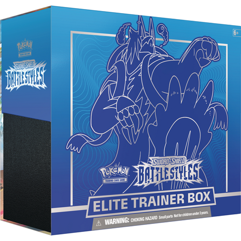 POKEMON BATTLE STYLES ELITE TRAINER BOX-Blue