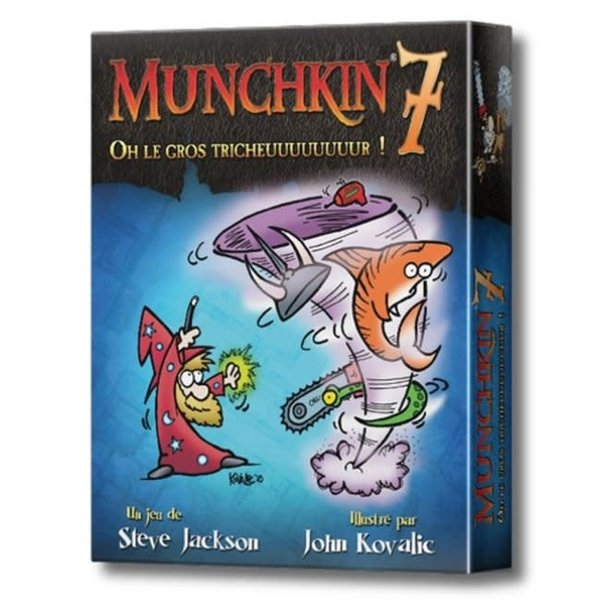 EDGE MUNCHKIN 7: OH LE GROS TRICHEUUUUUUUUR !