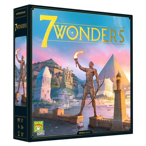 7 WONDERS (FR) - 2ième Édition