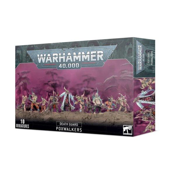 Warhammer 40k DEATH GUARD: POXWALKERS