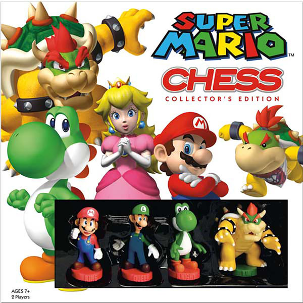 Usaopoly Jeu d'Échec - Chess: Super Mario™