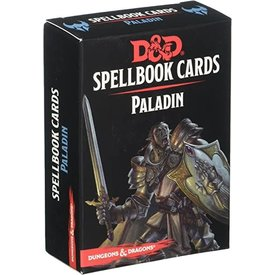 Wizards of the Coast FR - D&D - SPELLBOOK CARDS: PALADIN