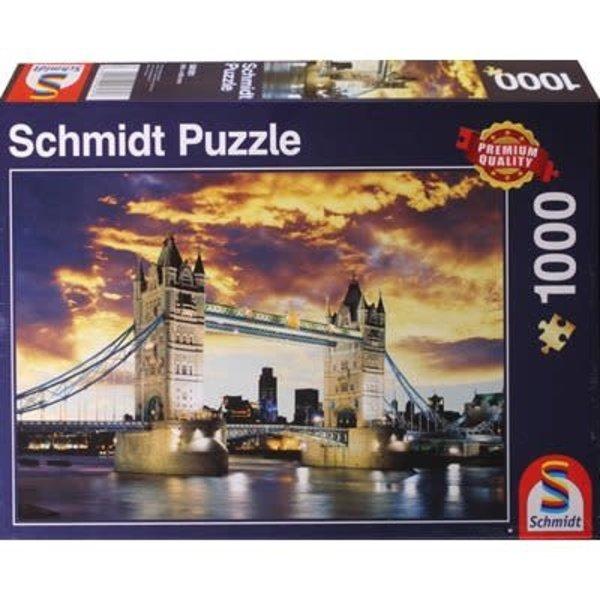 Schmidt Puzzle: 1000 Tower Bridge London