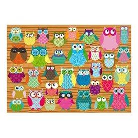 Schmidt Puzzle: 500 Owls