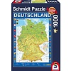 Puzzle: 1000 Map of Germany