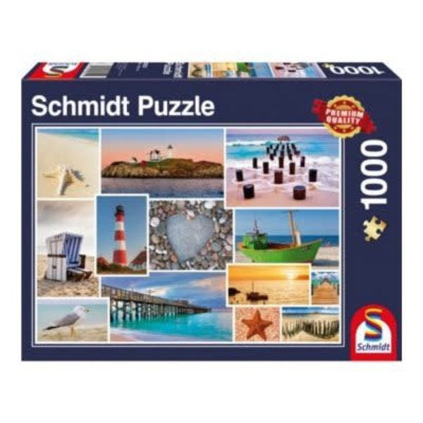 Schmidt Puzzle: 1000 By The Sea