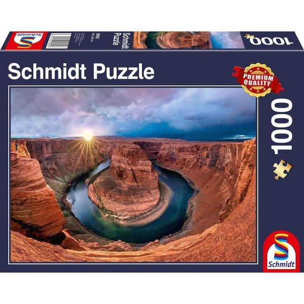 Schmidt Puzzle: 1000 Glen Canyon Horseshoe Bend