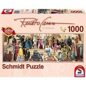 Schmidt Puzzle: 1000 100 years of Film Panoramic