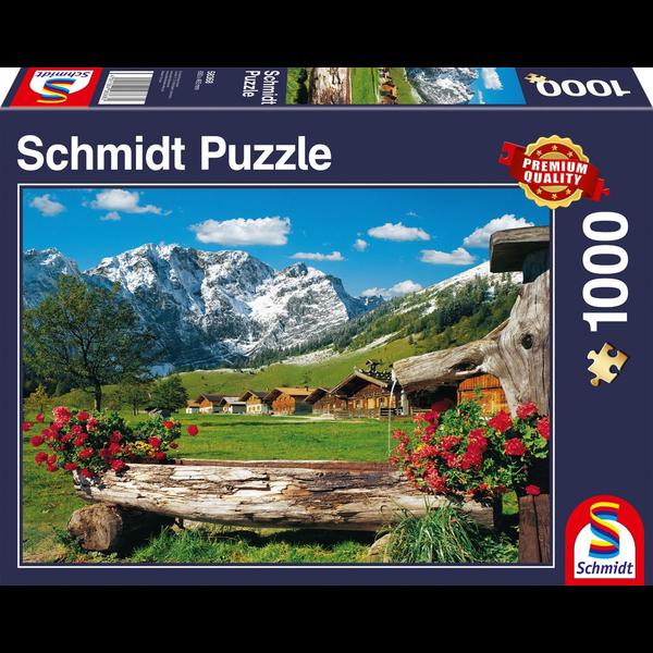 Schmidt Puzzle: 1000 Mountain Paradise
