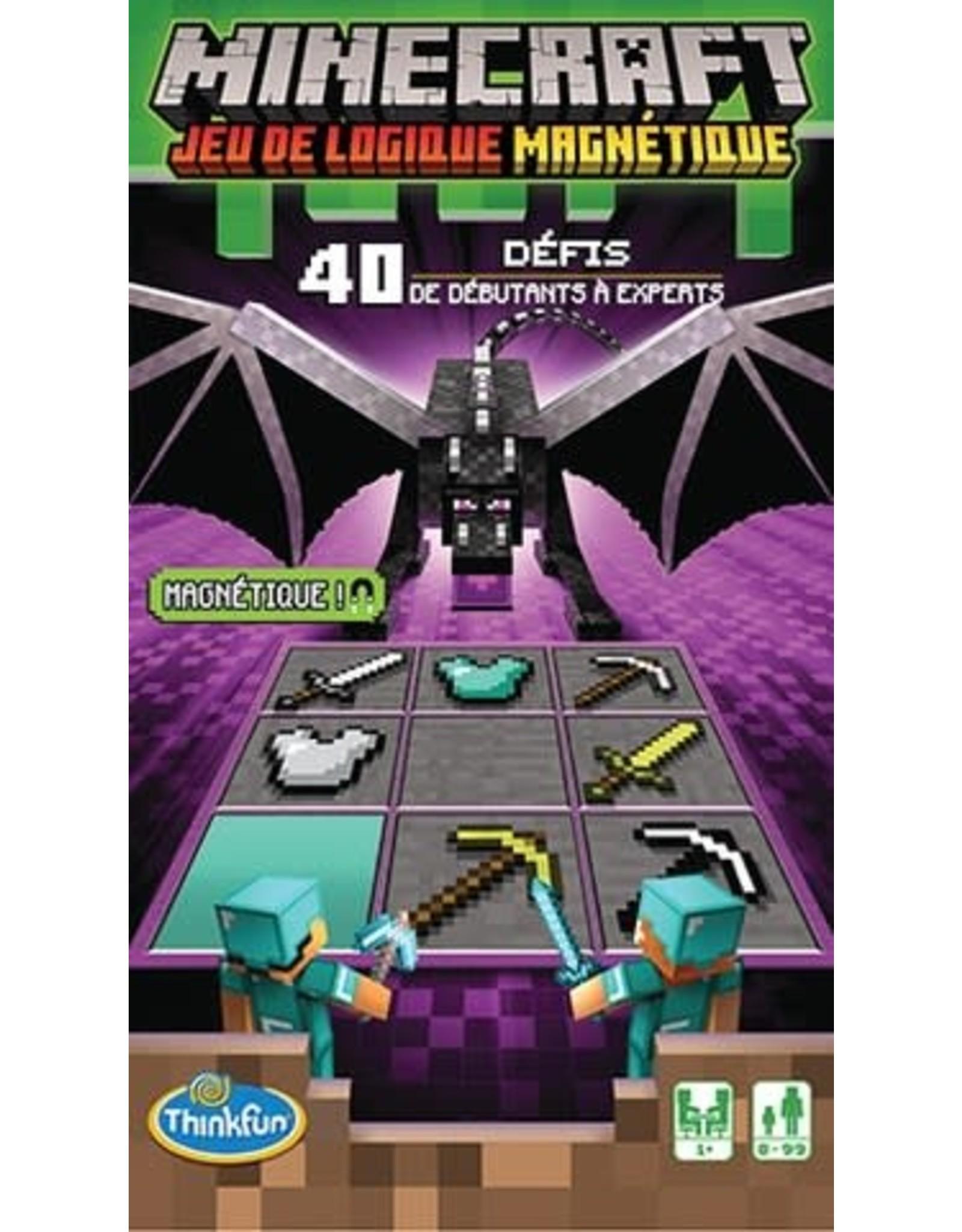 Thinkfun Minecraft - Jeu de Logique Magnétique