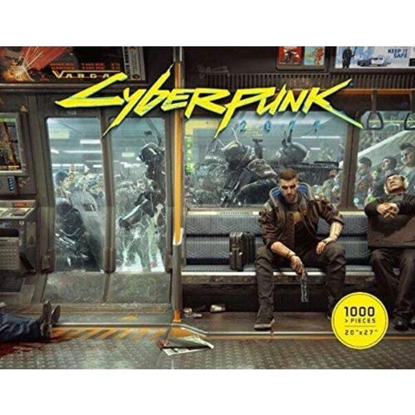 Dark Horse Comics Puzzle: 1000 - CYBERPUNK 2077 METRO LIFE