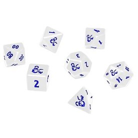 Ultra Pro UP DICE HEAVY METAL DND ICEWIND DALE 7-DIE WHITE