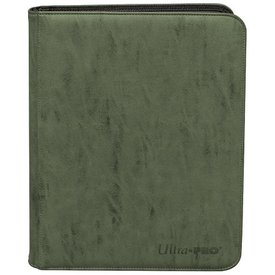Ultra Pro UP BINDER PRO SUEDE COLLECTION 9PKT EMERALD