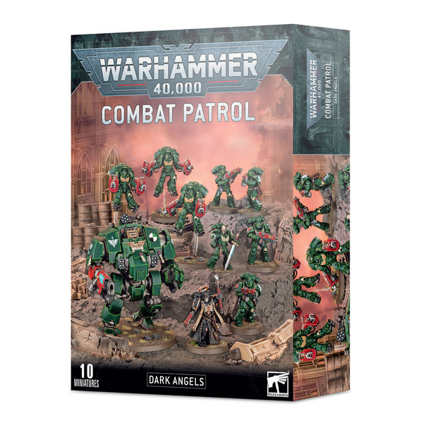 Warhammer 40k COMBAT PATROL: DARK ANGELS