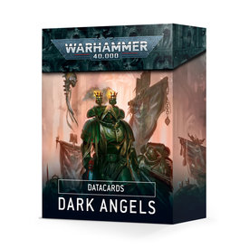 Warhammer 40k DATACARDS: DARK ANGELS (FRANÇAIS)