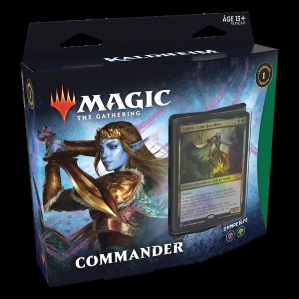 Wizards of the Coast FRANÇAIS-MTG KALDHEIM COMMANDER - Empire Elfe