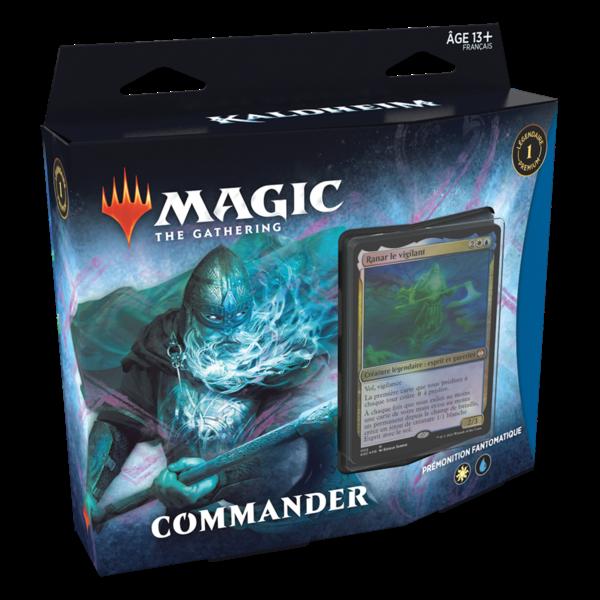 Wizards of the Coast FRANÇAIS-MTG KALDHEIM COMMANDER-Prémonition Fantomatique