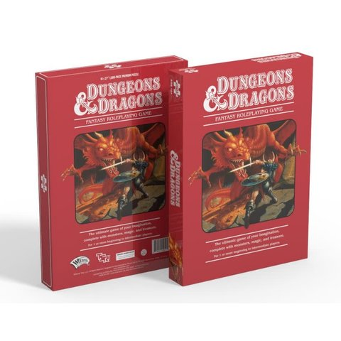 Puzzle: 1000 Dungeons & Dragons