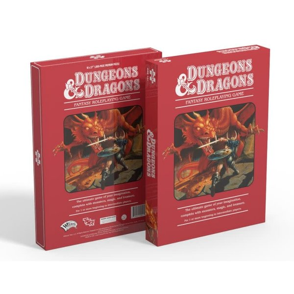 Mondo Games Puzzle: 1000 Dungeons & Dragons