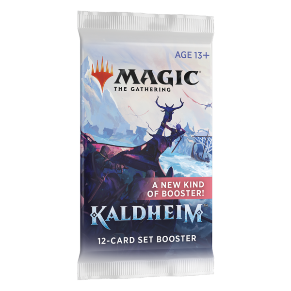 Wizards of the Coast MTG KALDHEIM SET BOOSTER PACK