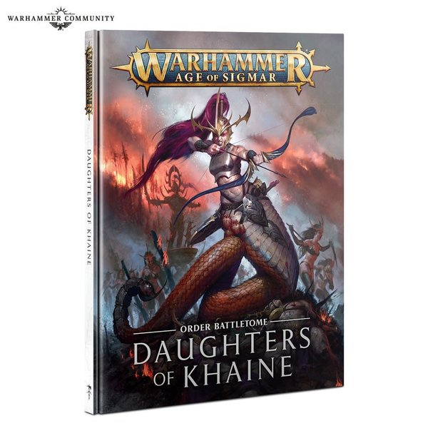 Age of Sigmar BATTLETOME: DAUGHTERS OF KHAINE (ENG)