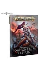 Age of Sigmar BATTLETOME: DAUGHTERS OF KHAINE (FRANÇAIS)