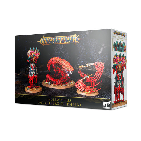 Age of Sigmar ENDLESS SPELLS: DAUGHTERS OF KHAINE