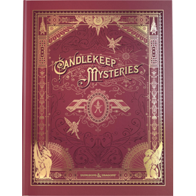 Wizards of the Coast DND RPG CANDLEKEEP MYSTERIES ALTERNATE COVER