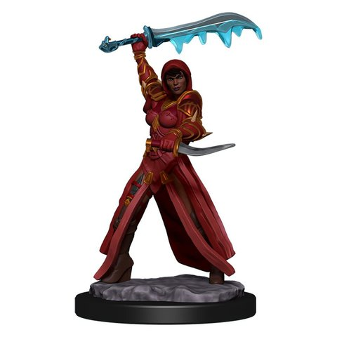 DND ICONS OF THE REALMS HUMAN ROGUE FEMALE PREM FIG