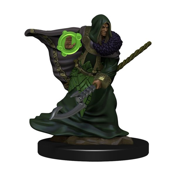 WIZKIDS DND ICONS OF THE REALMS ELF DRUID MALE PREM FIG