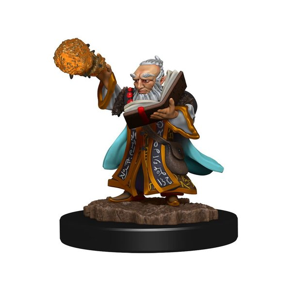 WIZKIDS DND ICONS OF THE REALMS GNOME WIZARD MALE PREM FIG