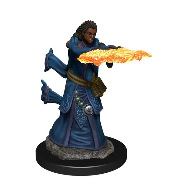 WIZKIDS DND ICONS OF THE REALMS HUMAN WIZARD FEMALE PREM FIG