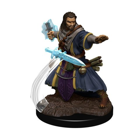 DND ICONS OF THE REALMS HUMAN WIZARD MALE PREM FIG